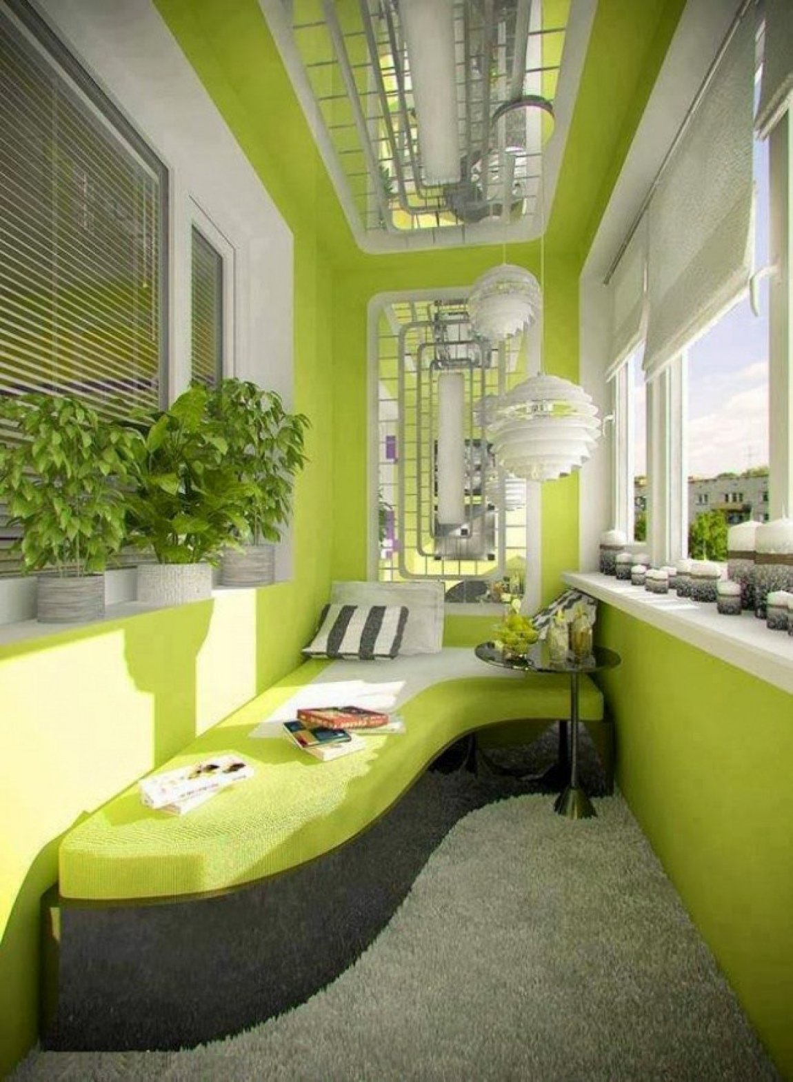 20 классных дизайнерских идей для вашего балкона.
