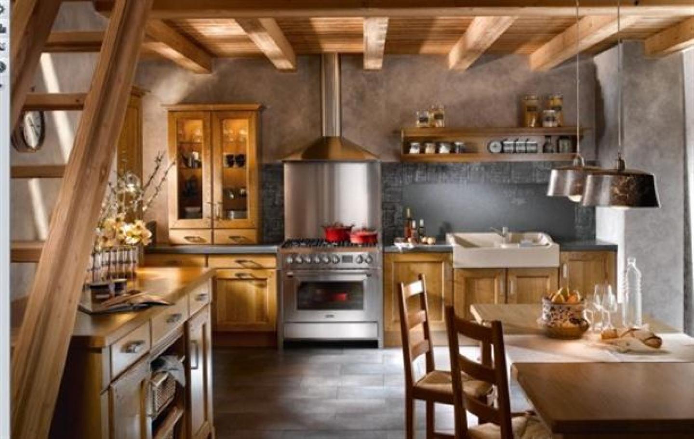 Дизайн интерьера кухни в старых домах 138