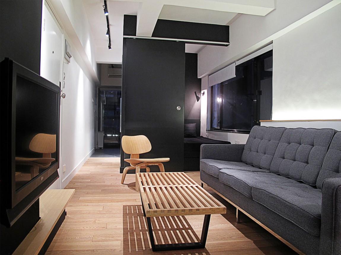 Интерьер однокомнатной квартиры 32 кв.м. фото