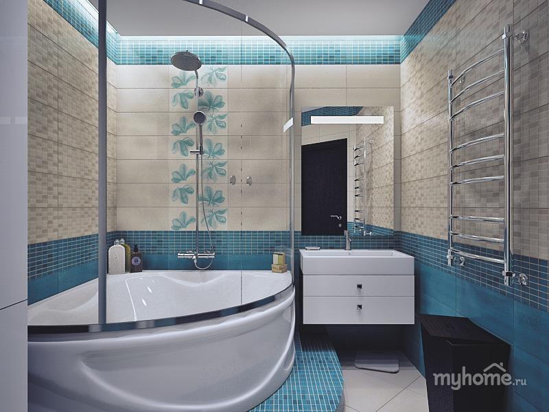 Дизайн интерьеров ванных комнат в квартирах