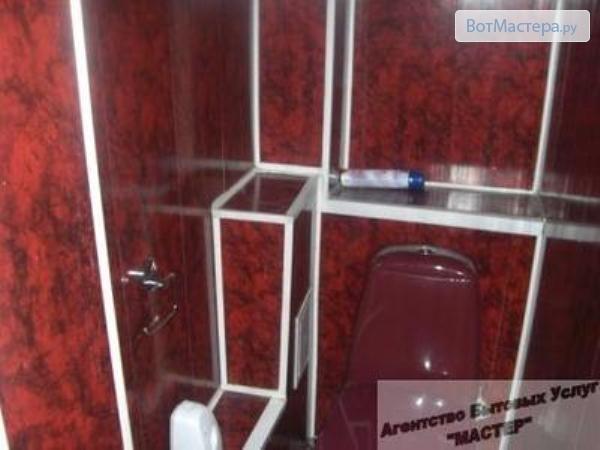 Отделка туалета панелями мдф своими руками видео