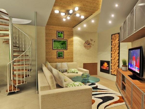 Интерьер и дизайн частного дома