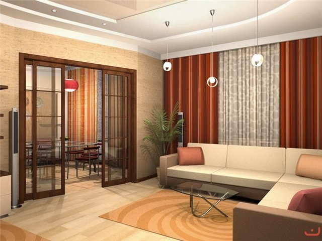 Фото дизайн совмещенной кухни и зала