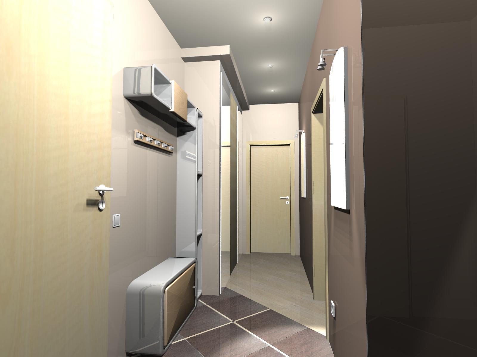 Дизайн кухни и коридора в хрущевке