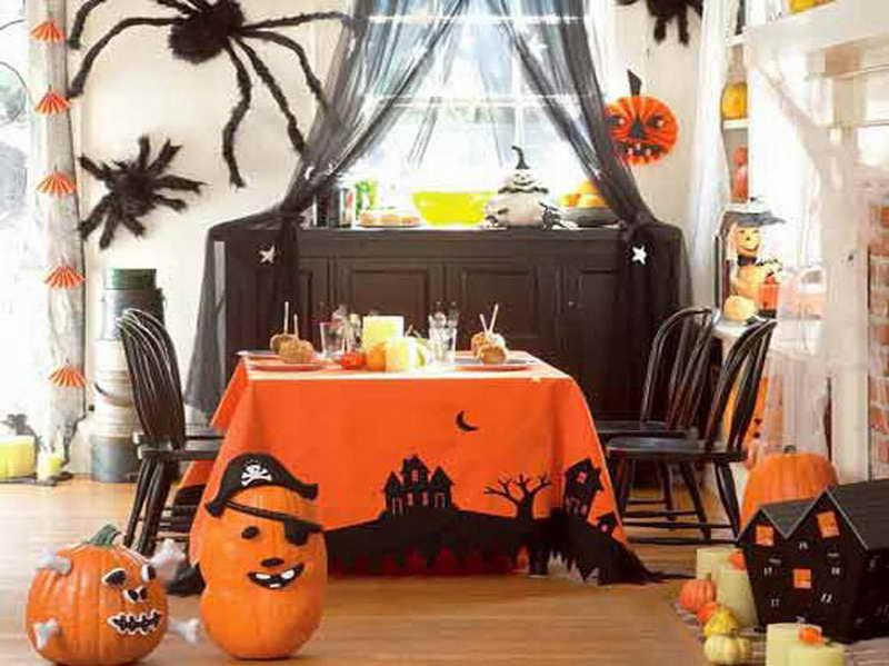 Украшение комнаты своими руками на хэллоуин