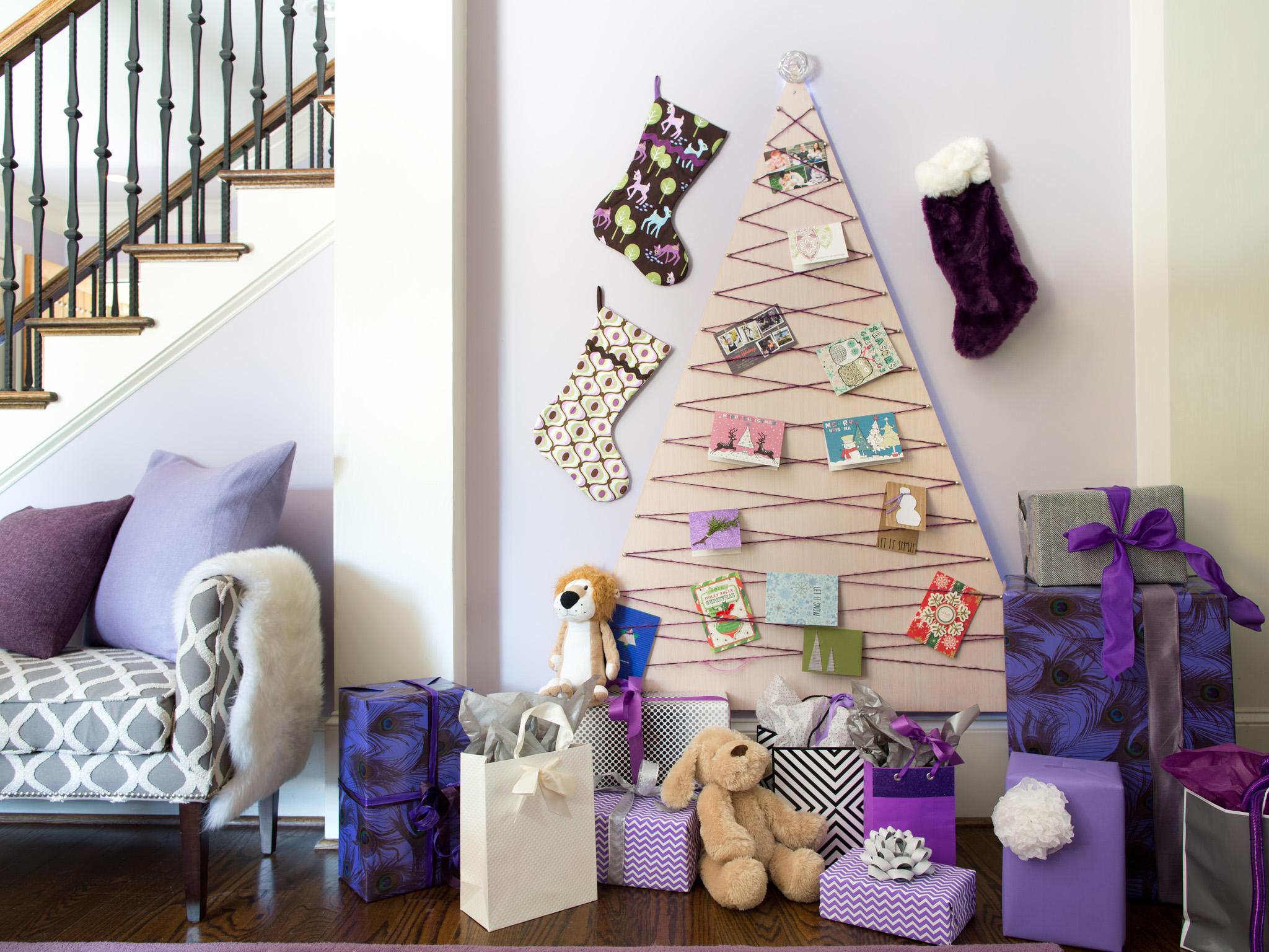 """Как оригинально украсить комнату на новый год своими руками """" Картинки и фотографии дизайна квартир, домов, коттеджей"""