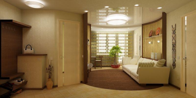 Дизайн 2 комнатной хрущевки комнаты