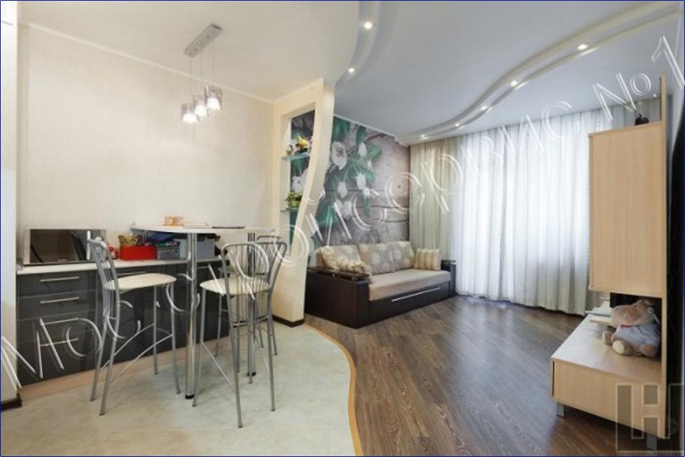 Дизайн однокомнатной квартиры стоимость 84