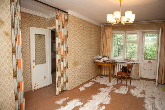 Фото однокомнатной квартиры без ремонта хрущевка
