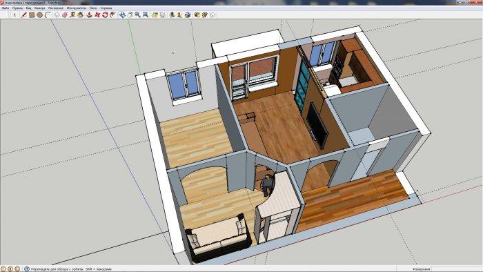 Ремонт в 2-х комнатной хрущевке дизайн пятиэтажки
