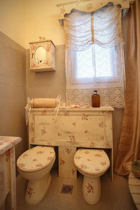 Украшение туалета своими руками
