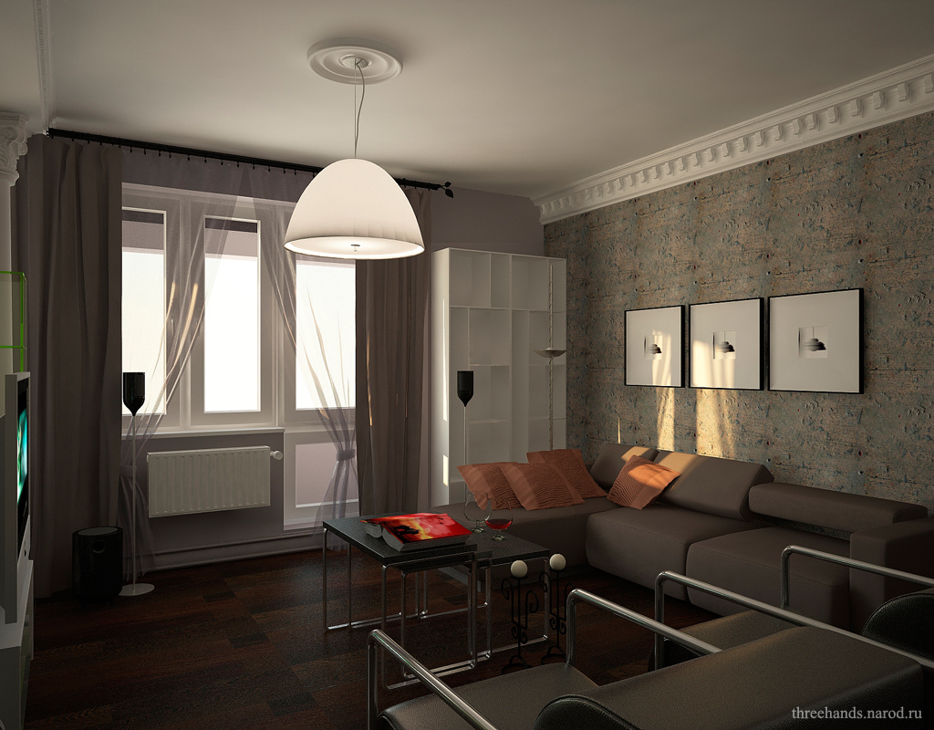 Дизайн квартир 2017 55 м 2 х комнатная новинки
