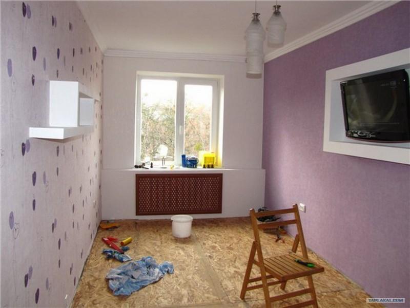 Ремонт квартиры в хрущевке фото своими руками
