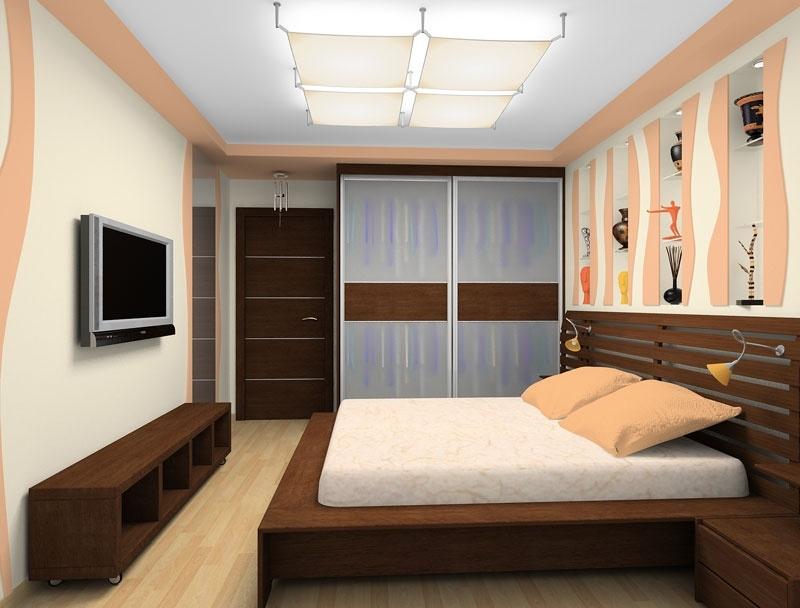Интерьер для спальной комнаты 14 кв.м фото