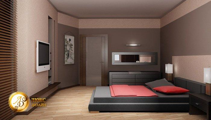 Спальня 16 квм реальный дизайн