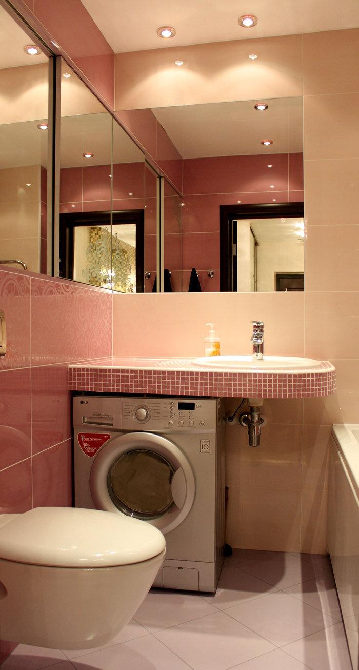 Ремонт и ванной в маленьких квартирах