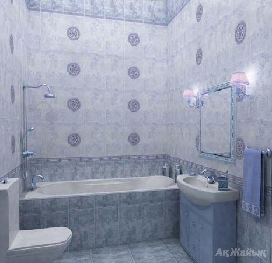Дизайн в ванной кафель