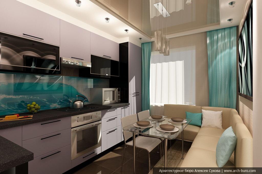Дизайн кухни в частном доме 10 кв м