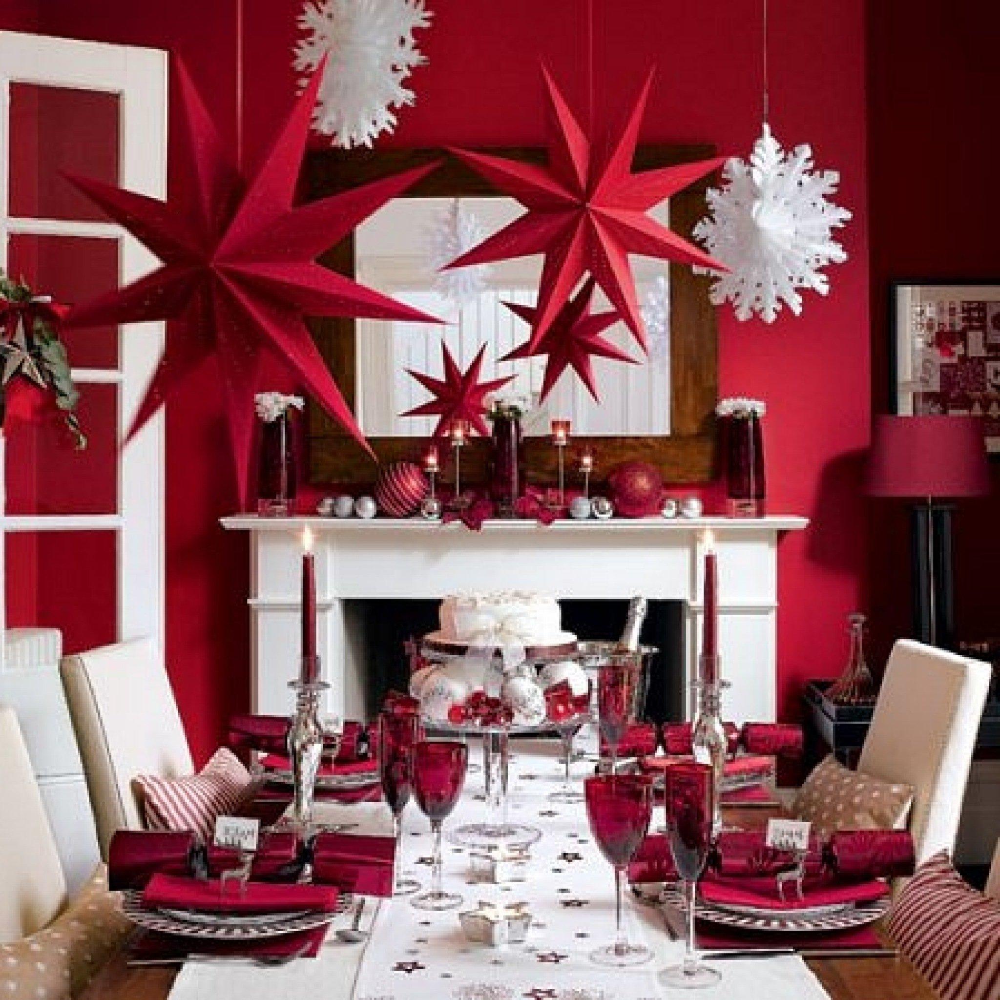 Как украсить красиво квартиру на новый год 2017