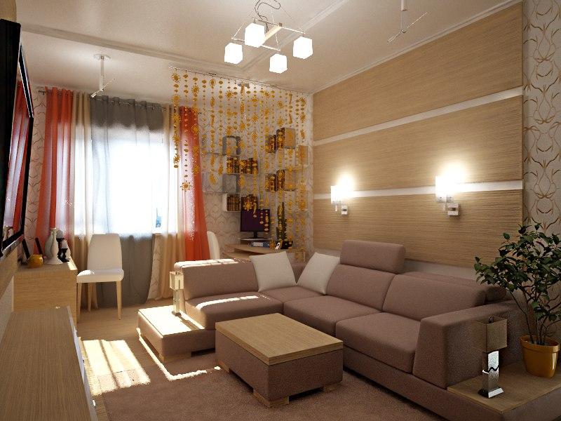 Ремонт 1 комнатной квартиры 36 квм