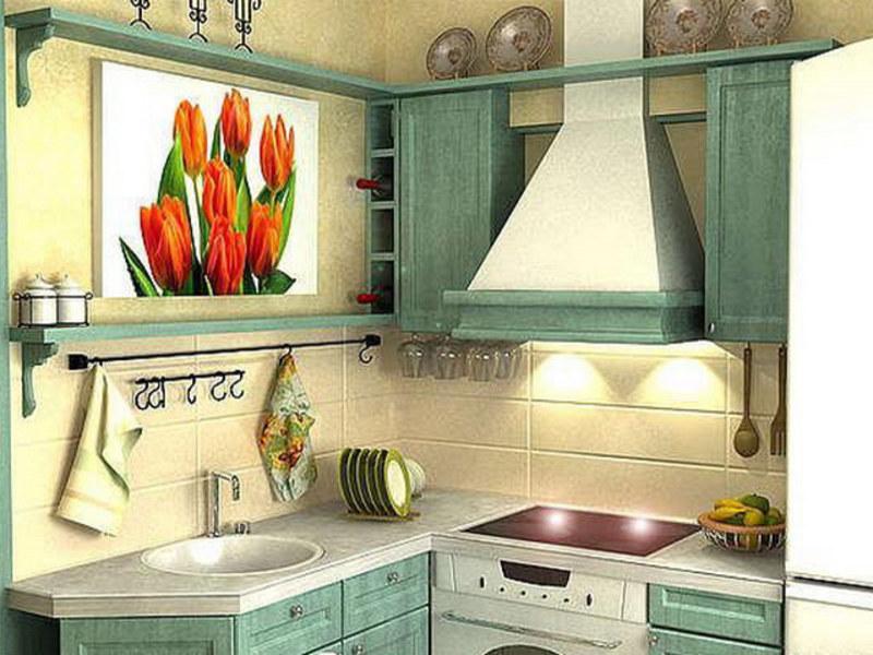 Кухни для хрущевок своими руками