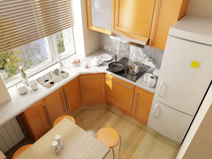 Дизайн кухни на 5 кв м