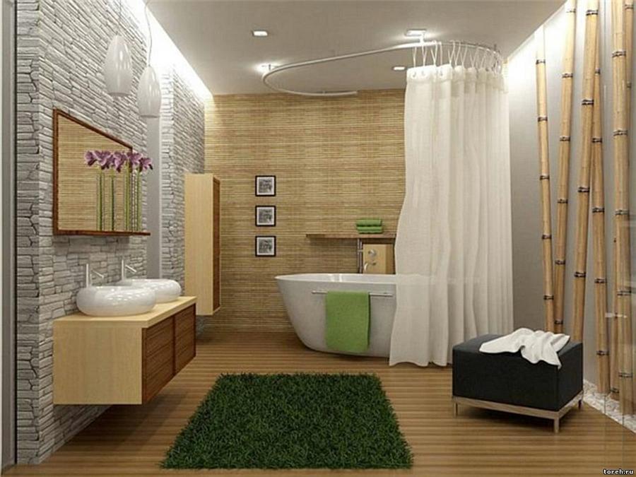 Дизайн ванны с картинками
