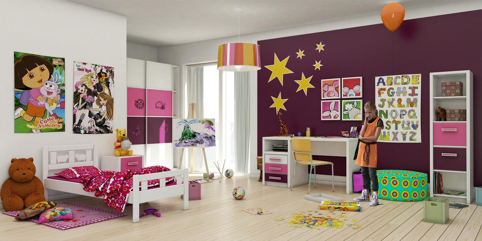 Оформить детскую комнату для девочек своими руками 2