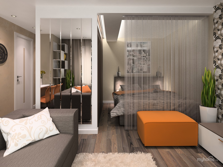 Дизайн проект однокомнатной квартиры цена