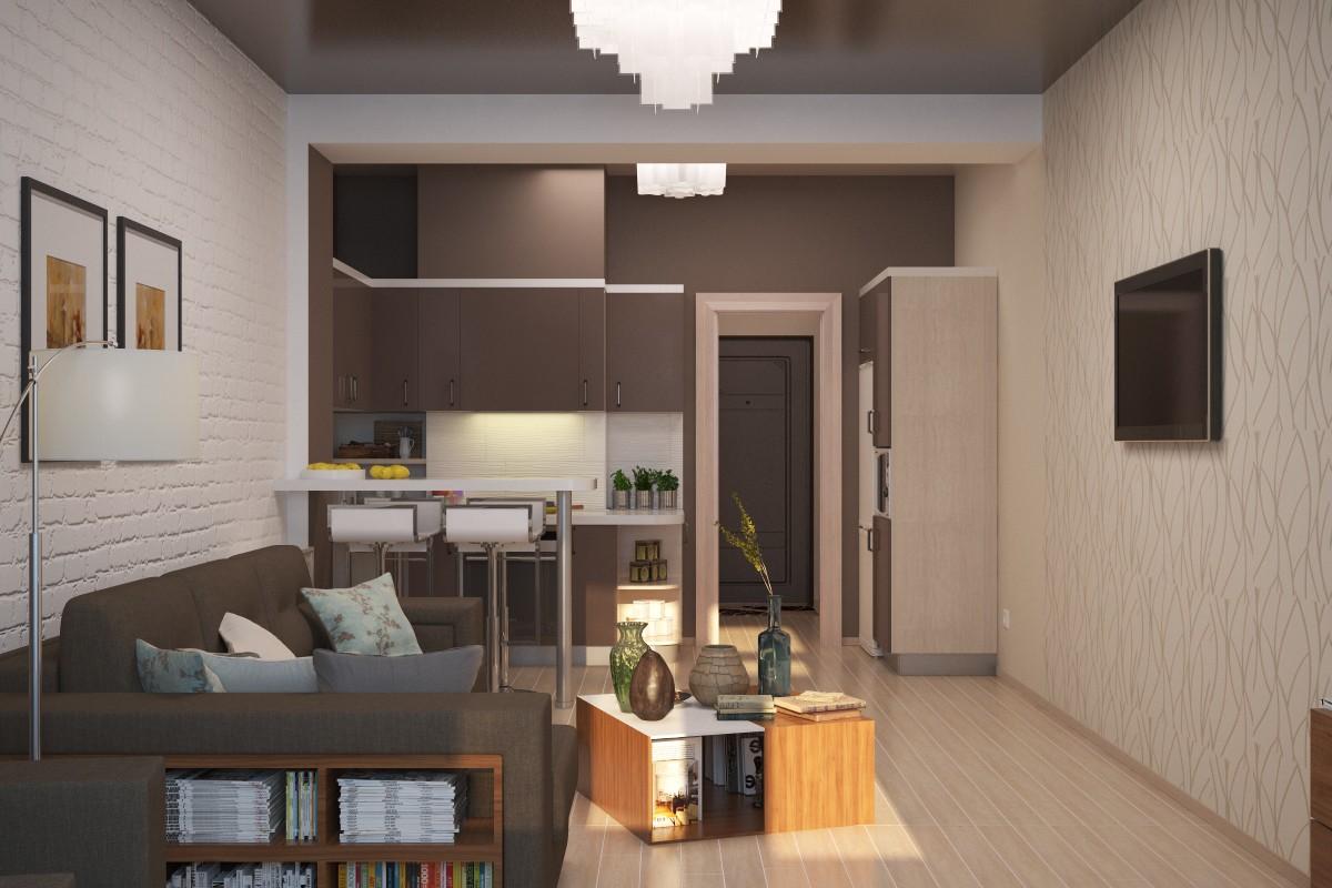 Фото ремонта квартиры студии площадью 30