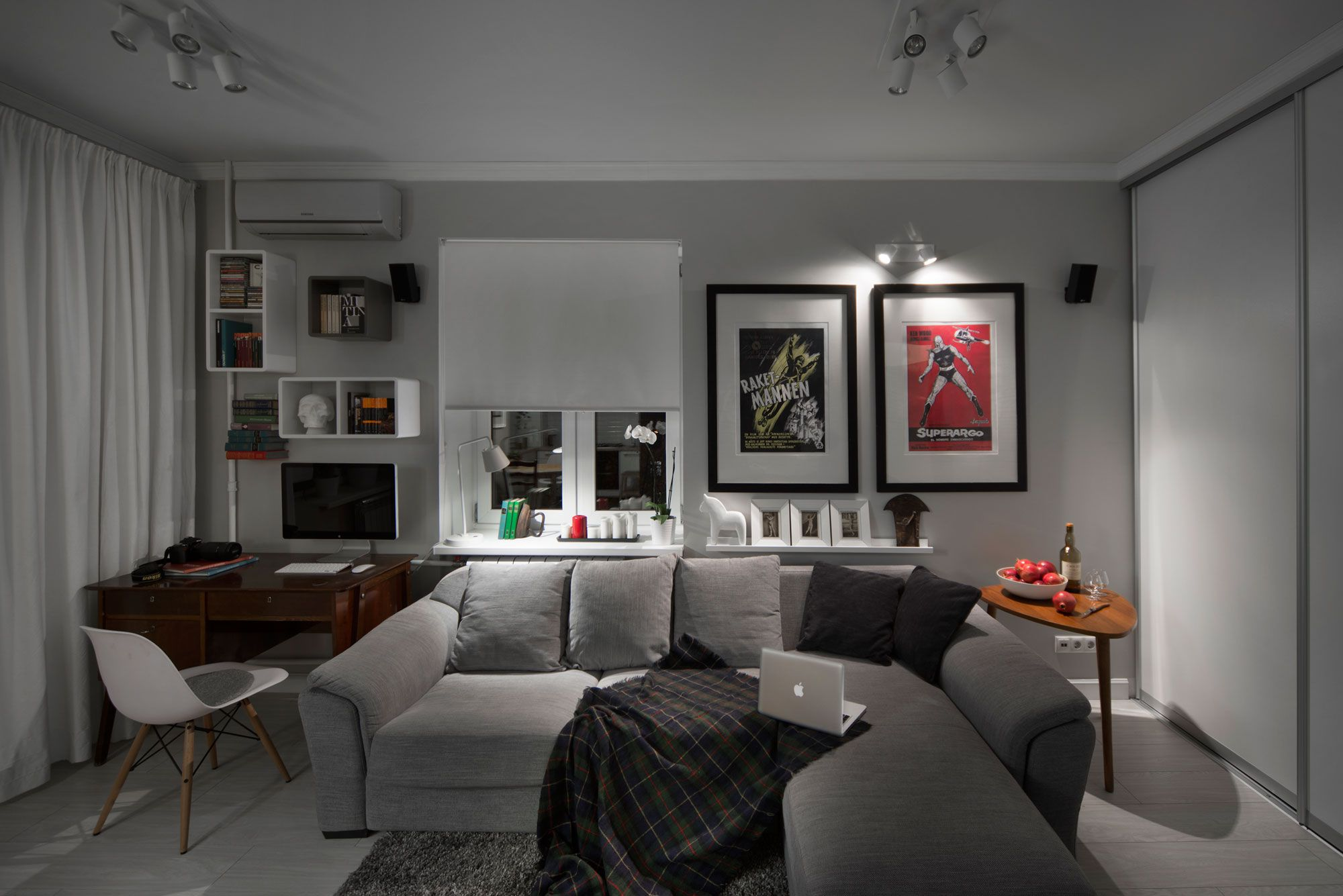 Фото интерьер 1-комнатной хрущевки