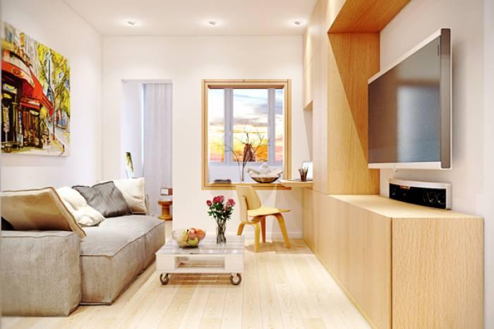 Дизайн и интерьер маленькой квартиры фото