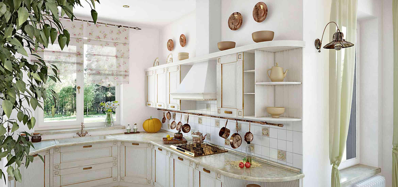 Кухни дизайн в стиле прованс проекты