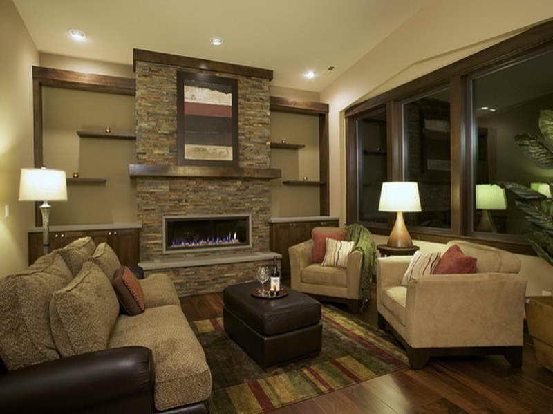 Современные гостиные дизайн идеи с камином