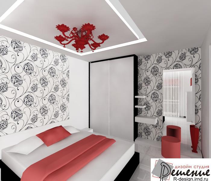 дизайнерские идеи интерьера: Дизайн интерьера спальни в белом цвете » Картинки и