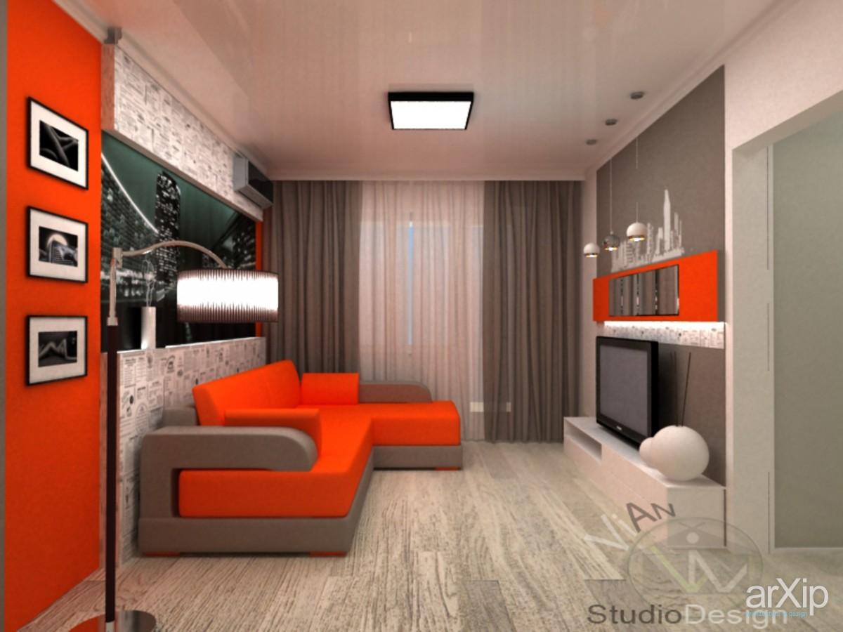 Дизайн стандартной комнаты в хрущевке