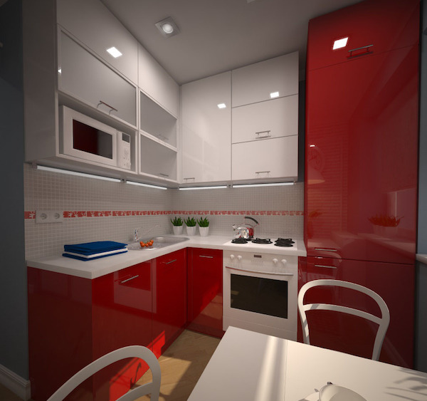 Кухни интерьер хрущевка фото