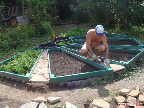 Как сделать красиво огород на даче своими руками фото