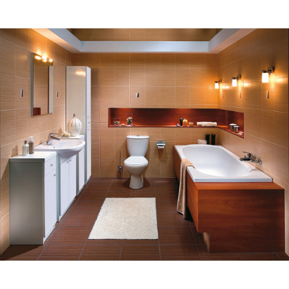 Дизайн ванной и туалета вместе