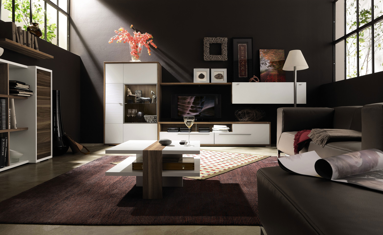 Дизайн зала с мебелью