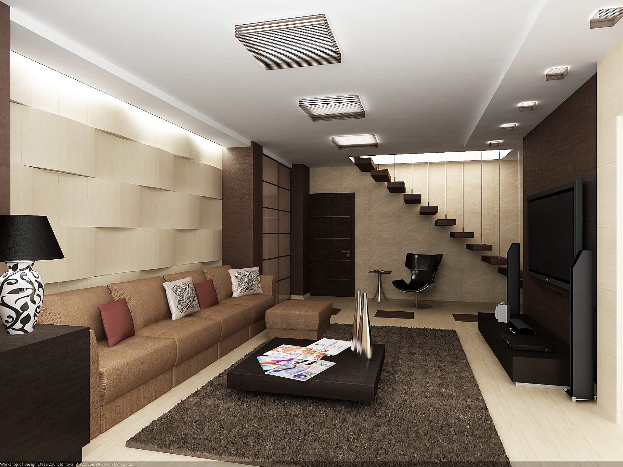 Двухуровневая квартира фото дизайна интерьера