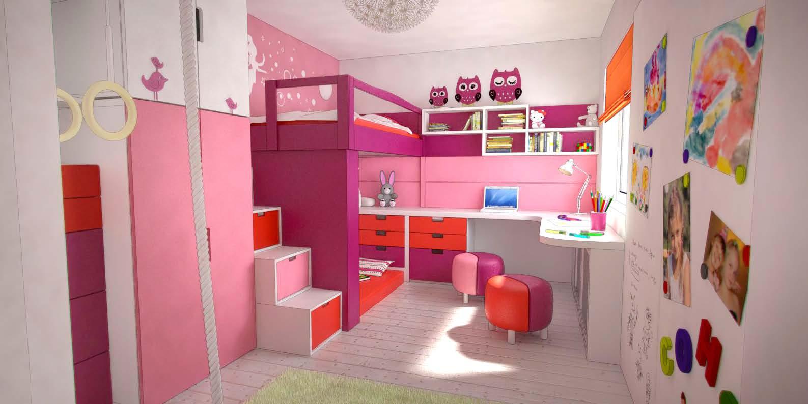 Дизайн интерьер детских комнат фото