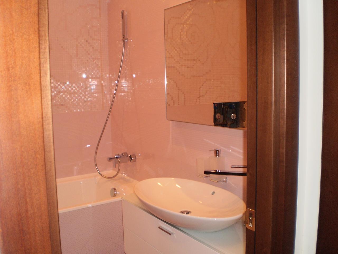 Маленькие ванные комнаты дизайн в квартире реальные