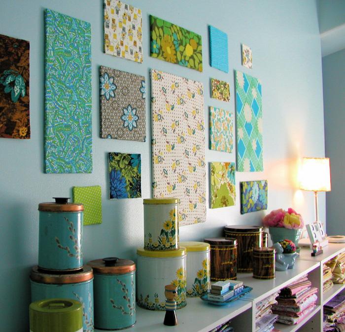 Декор стен картинами своими руками