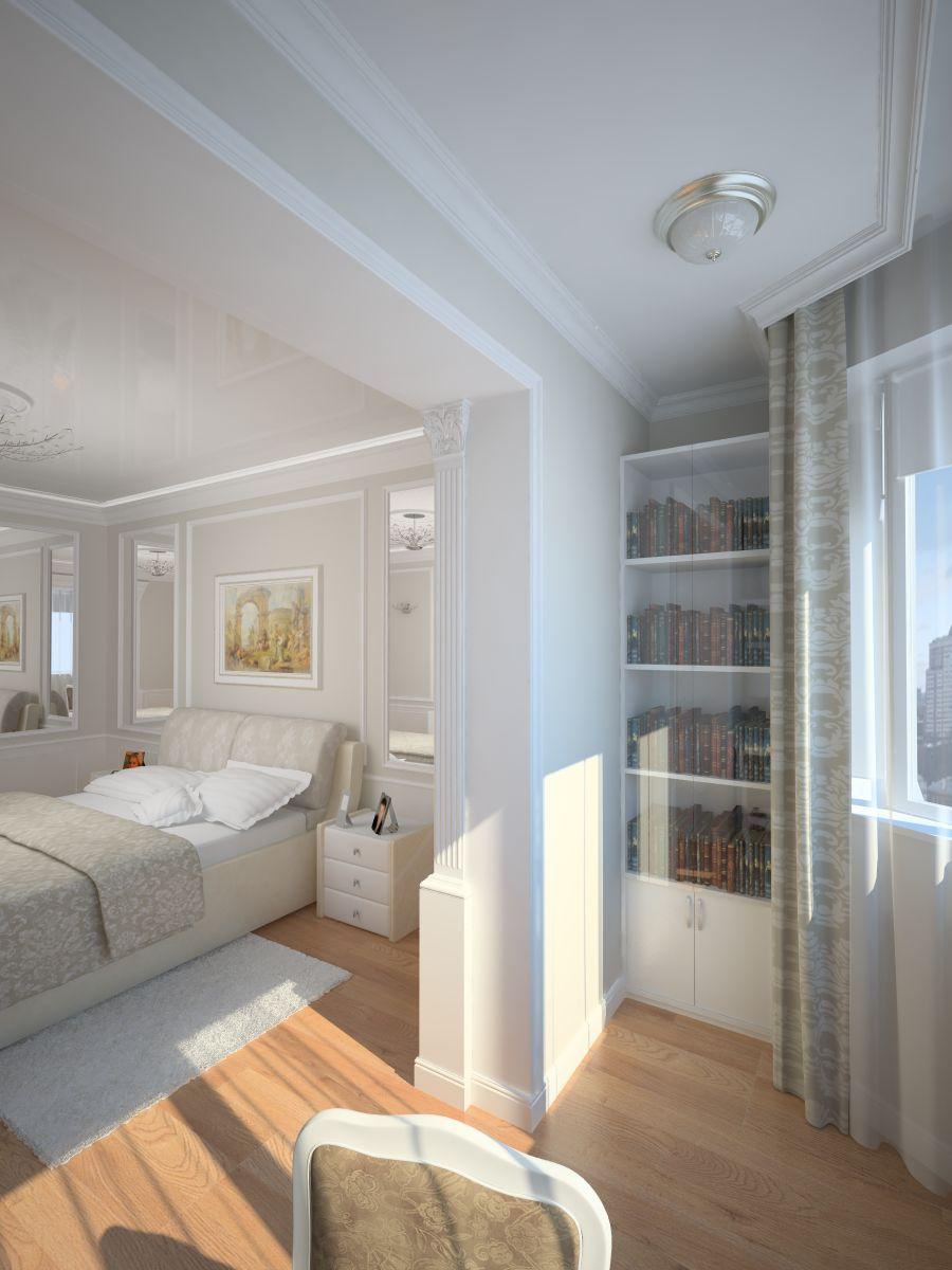 Соединение лоджии и комнаты дизайна