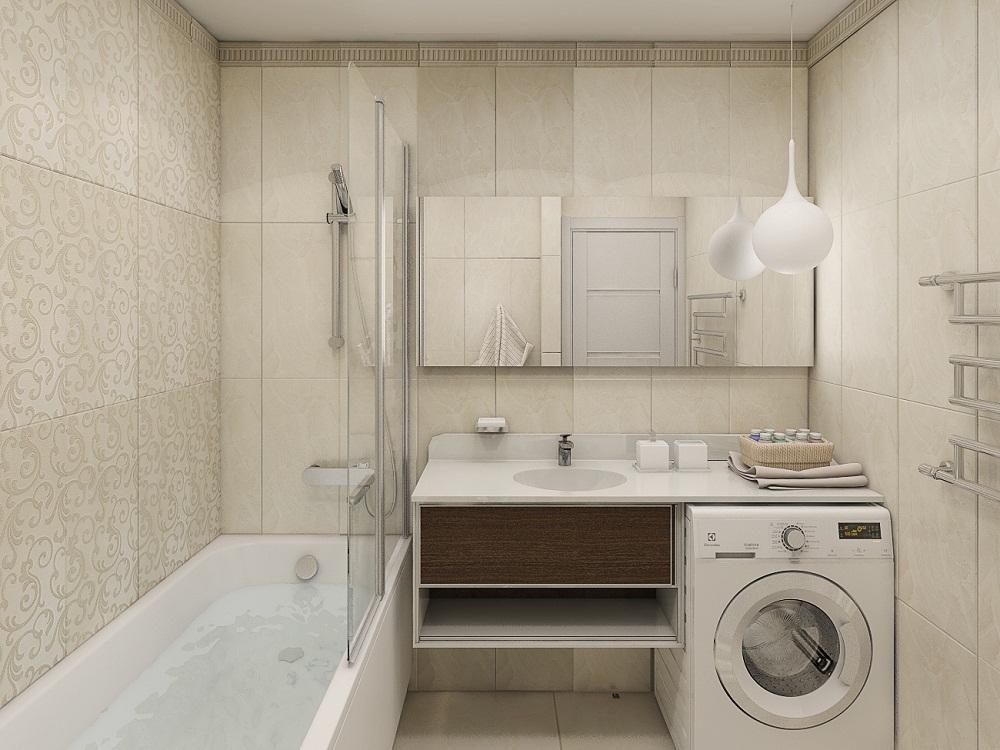 Дизайны ванных комнат раздельная с туалетом