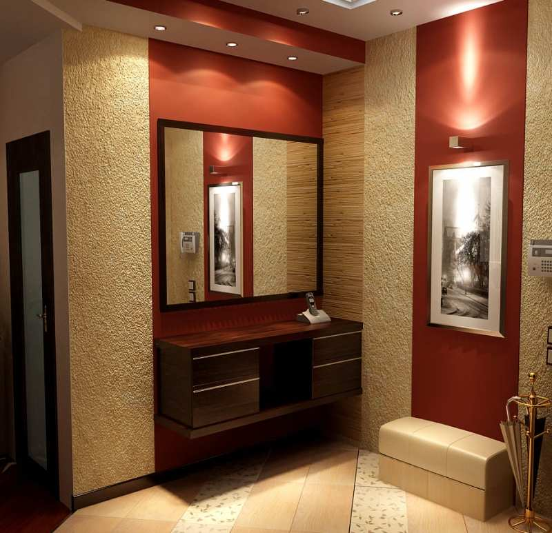 Интерьеры коридоров в малогабаритных квартирах