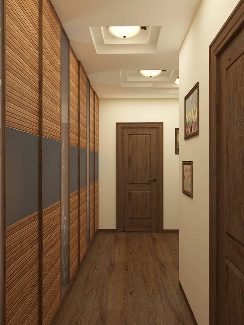 Фото прихожих в длинном коридоре дизайн