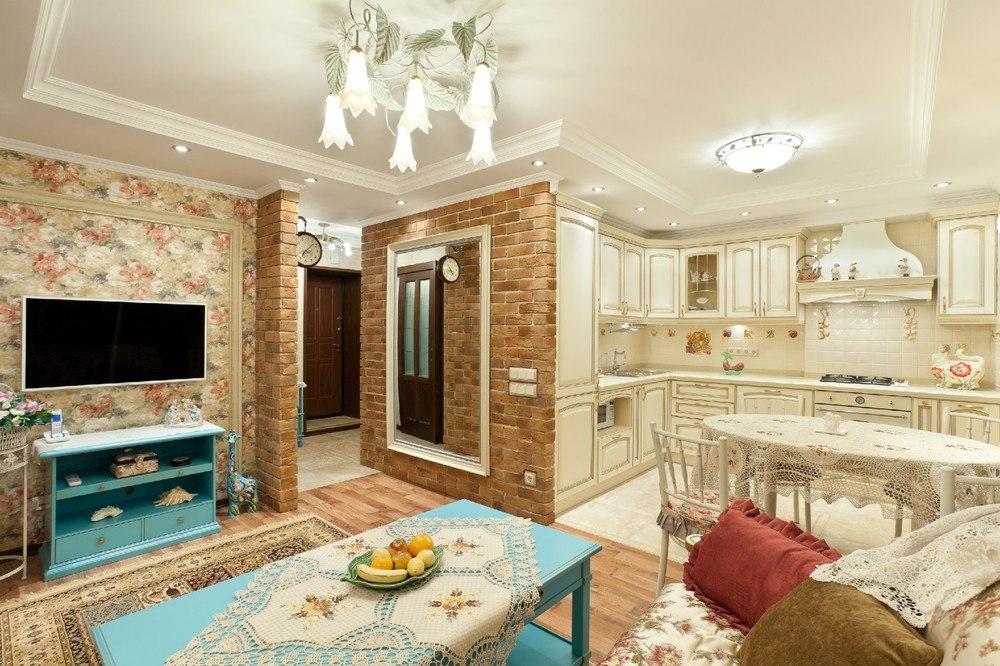 Ремонт квартиры в стиле прованс