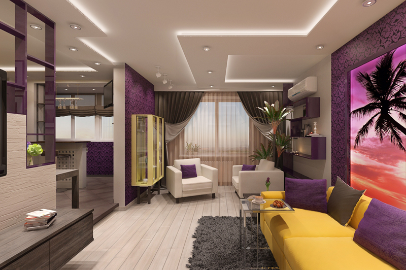 Дизайн 3 комнатные квартиры 199